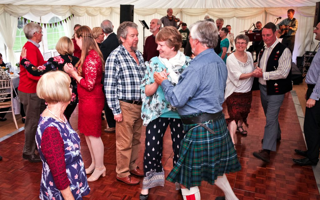 We guarantee a stomping ceilidh or barn dance
